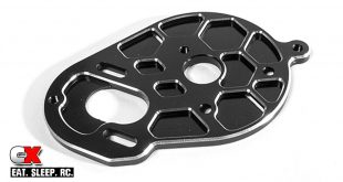 Schelle Racing Vented Motor Plate for the Team Associated B5M and TLR 22 3.0