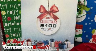 25 Days of CompetitionX-mas – AKA $100 Gift Certificate