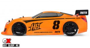 HB Racing RGT8 GT Class 1:8 On Road Car