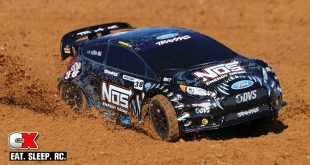 Traxxas NOS Deegan Ford Fiesta ST Rally Car