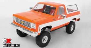 RC4WD Chevrolet Blazer Hard Body - 4 Great New Colors