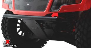 RPM Front Bumper and Skid Plate for the Losi Baja Rey