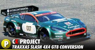 Project: Team STRC Traxxas Slash 4x4 GT8/Rally Cross Conversion Kit