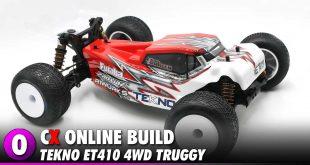 Tekno ET410 4WD 1:10 Truggy Build | CompetitionX