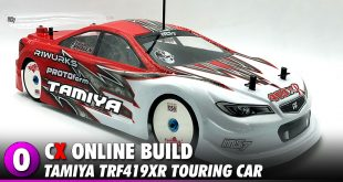 Tamiya TRF419XR Touring Car Chassis Build | CompetitionX
