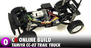 Tamiya CC-02 Trail Truck Build | CompetitionX