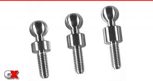 Lunsford 5.5mm Riser Titanium Ball Studs | CompetitionX