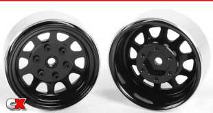 "RC4WD Stamped Steel 1.7"" Beadlock Wagon Wheels 