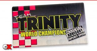 Trinity Retro Parental Advisory Pit Mat | CompetitionX