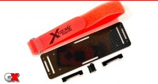 Xtreme Racing Carbon Fiber Battery Insert - Traxxas Slash 2WD/4WD | CompetitionX