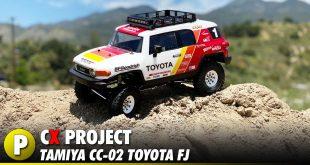 Project: Tamiya CC-02 Toyota FJ Trail Truck
