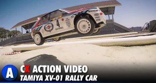 Video: Tamiya XV-01 Rally Car Track Day - Tamiya America Track | CompetitionX