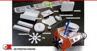 Team Associated 3D Printed Engine Parts | CompetitionX
