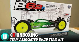Team Associated B6.2D Unboxing Video | CompetitionX