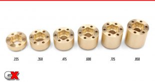 Vanquish Products Brass SLW 350 Wheel Hubs | CompetitionX