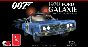 AMT 1/25 Scale 1970 Ford Galaxie Police Car (James Bond) | CompetitionX
