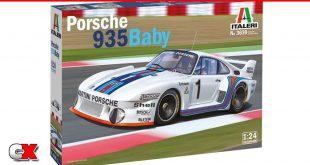 Italeri 1/24 Scale Porsche 935 Baby Model Kit | CompetitionX