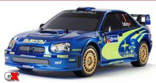Tamiya Subaru Impreza Mexico 2004 TT-01 | CompetitionX