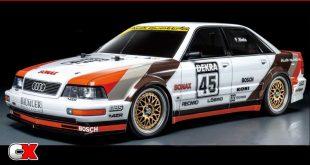 Tamiya 1991 Audi V8 Touring TT-02 | CompetitionX