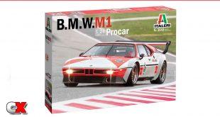 New Italeri Kits - BMW M1 Procar, IVECO Hi-Way 480 E5 Low Roof | CompetitionX