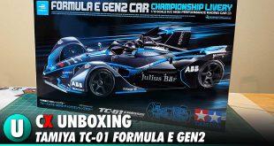 Video: Tamiya TC-01 Formula E GEN2 Unboxing | CompetitionX