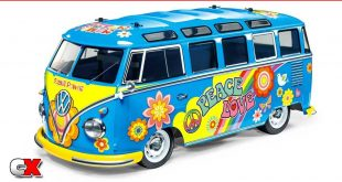 Tamiya Volkswagen Type 2 M05 Bus - Flower Power | CompetitionX