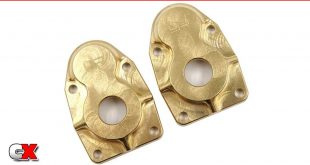 Yeah Racing Brass Portal Covers - Axial Capra/SCX10 III | CompetitionX