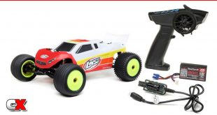 Losi Mini-T 2.0 2WD Brushless Stadium Truck RTR | CompetitionX