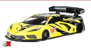PROTOform Chevrolet Corvette C8 GT12 Clear Body | CompetitionX