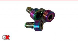 RC Speed Secret Titanium Motor Screws - Trinity X-Factor Motor | CompetitionX
