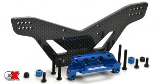 Exotek Carbon Fiber Rear Drag Shock Tower - Traxxas Slash | CompetitionX