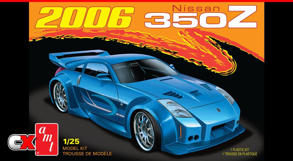 AMT 2006 Nissan 250Z Model Kit | CompetitionX