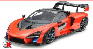 Tamiya McLaren Senna 1/24 Scale Hypercar Model Kit | CompetitionX