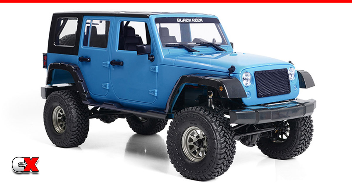 RC4WD Cross Country RTR w/Black Rock Body Set   CompetitionX