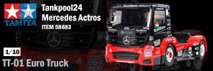 Tamiya Tankpool24 Mercedes Actros Euro Truck