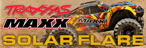 Traxxas Maxx Monster Truck Solar Flare