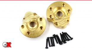 Xtra Speed Brass Wheel Hubs - Axial SCX24 | CompetitionX