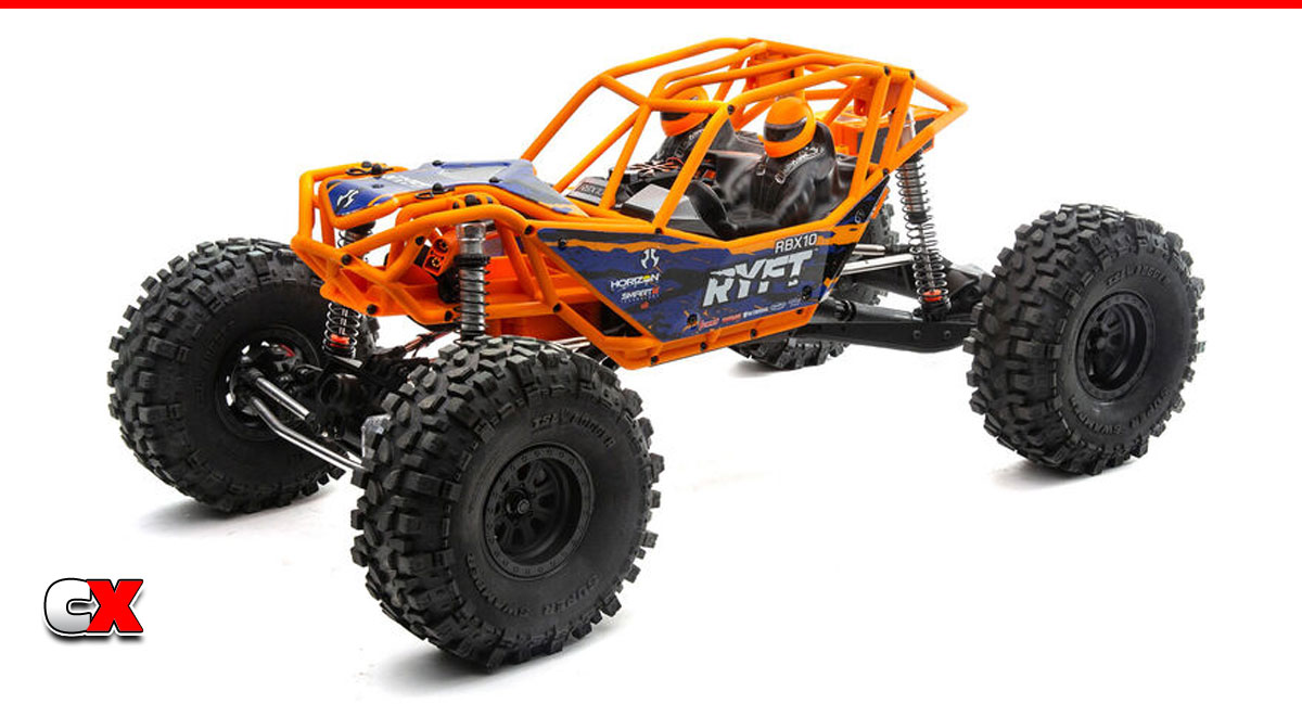 Axial RBX10 Ryft 4WD Rock Bouncer RTR | CompetitionX