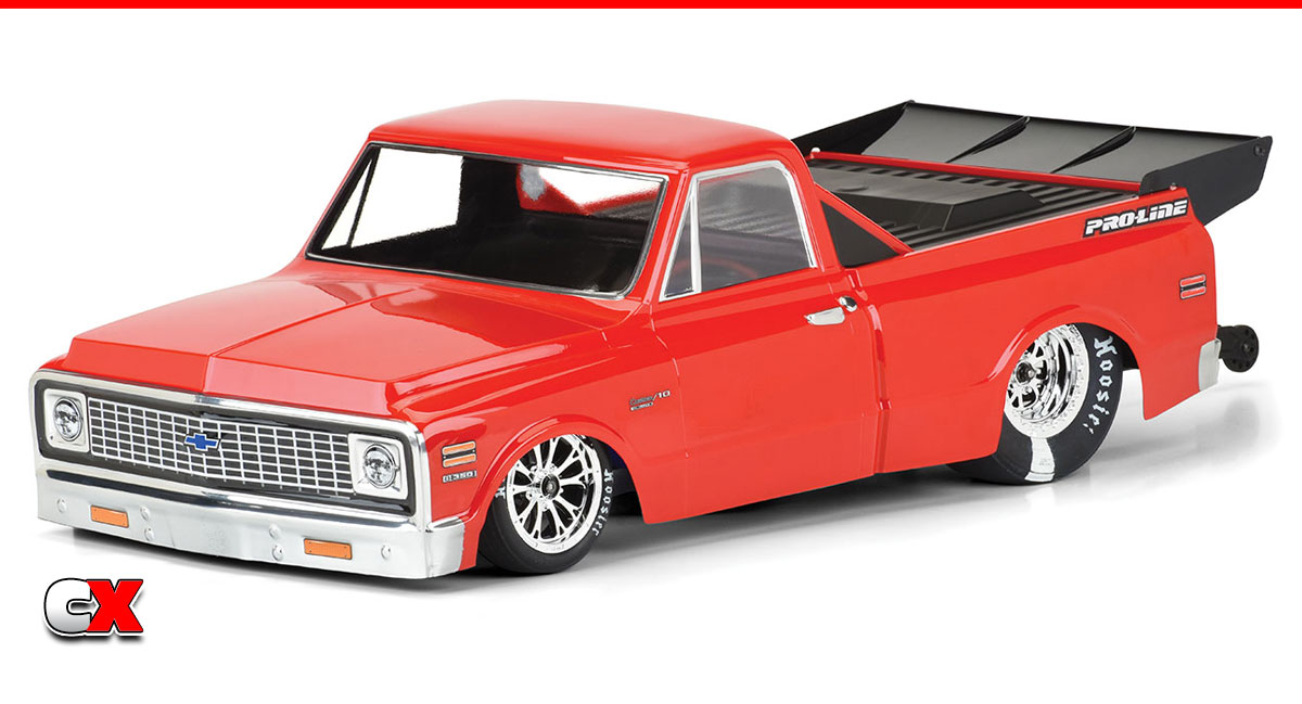Pro-Line 1972 Chevy C-10 Clear Drag Body | CompetitionX
