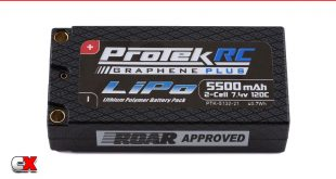 Protek Graphene Plus LiPo Battery Packs | CompetitionX