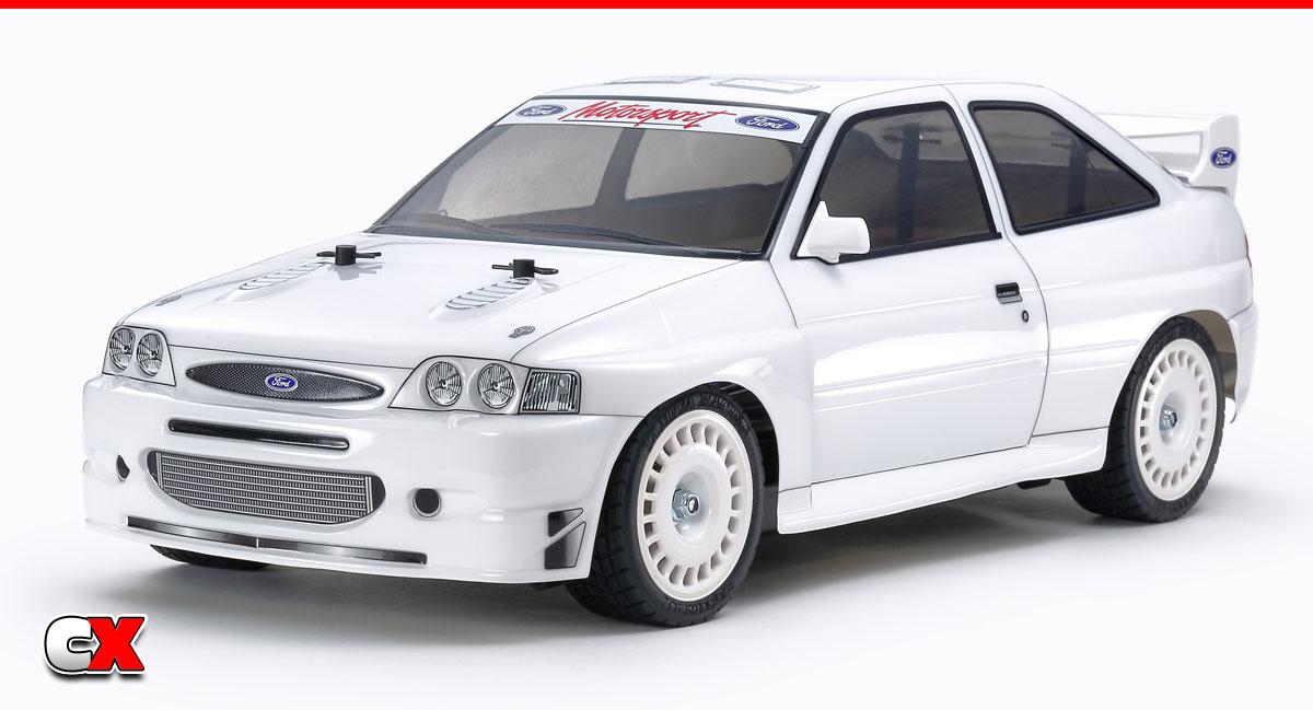 Tamiya 1998 Ford Escort TT-02 Touring Car   CompetitionX