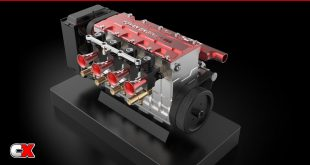 Toyan Four-Cylinder Four-Stroke Water-Cooled Nitro Engine | CompetitionX