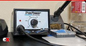 CompetitionX Preferred RC Tools - TrakPower TK950 Soldering Iron Station
