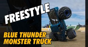 Video - YouTube Shorts - RC Monster Jam World Finals Blue Thunder | CompetitionX