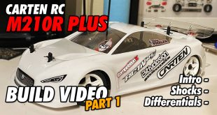 Video - Carten RC M210R Plus Online Build - Part 1 | CompetitionX