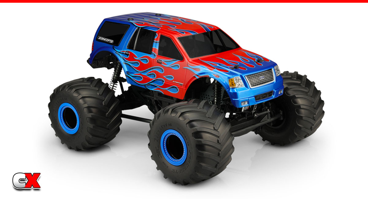 JConcepts 2005 Ford Expedition Monster Truck Body | CompetitionX