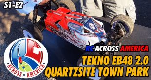Video - RC Across America - Quartzsite Town Park RC Track Tekno RC EB48 2.0 | CompetitionX