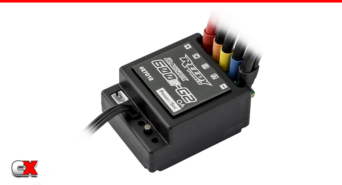 Reedy Blackbox 600Z-G2 Zero-Timing ESC | CompetitionX