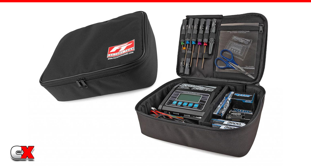 Team Associated Factory Team Charger and Radio Bags | CompetitionX