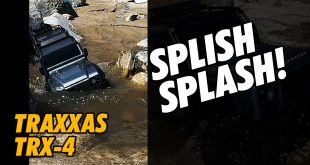 Video - YouTube Shorts - Traxxas TRX-4 Trail Truck Water Run | CompetitionX
